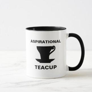 Aspirational Teacup Mug
