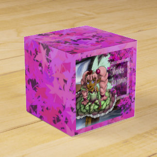 Aspire Birthday Classic 2x2 Favor Boxes, Fairy Wedding Favor Box