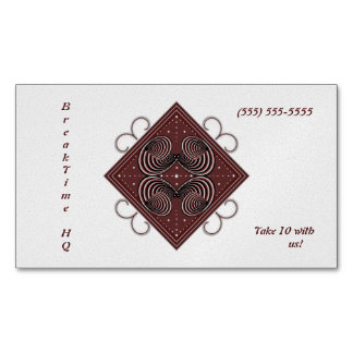 Aspire Business Card Magnet