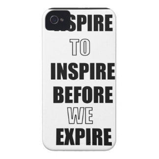 ASPIRE TO INSPIRE BEFORE WE EXPIRE iPhone 4 Case-Mate CASE