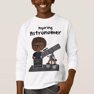 Aspiring Astronomer shirt for future scientists
