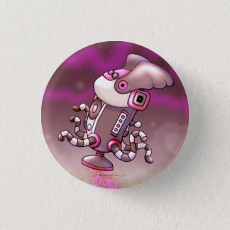 ASPIRO DUST ALIEN ROBOT SMALL BUTTON