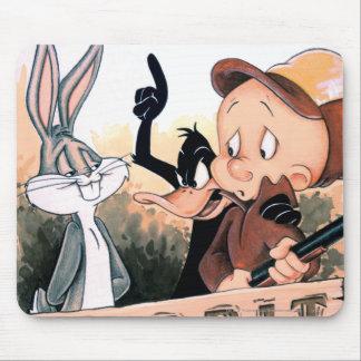 Assaisonnement Looney de lapin d airs Tapis De Souris