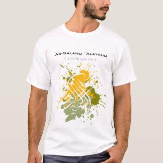 Assalamu 'alaikum - Arabic calligraphy Art T-Shirt