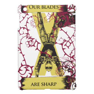assassin our blades are sharp cover for the iPad mini