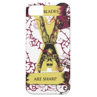 assassin our blades are sharp iPhone 5 case