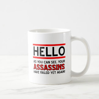 Assassins Failed Funny Mug