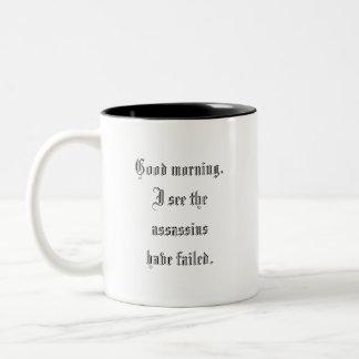 Assassins Two-Tone Coffee Mug
