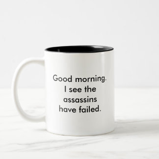 Assassins Two-Tone Coffee Mug