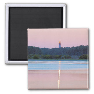 Assateague Lighthouse Square Magnet
