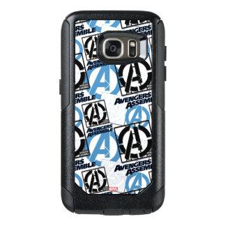 Assemble Pattern OtterBox Samsung Galaxy S7 Case