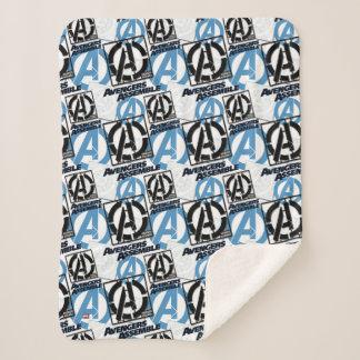 Assemble Pattern Sherpa Blanket