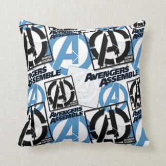 Assemble Pattern Throw Pillow