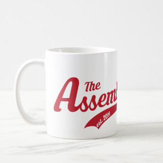 Assembly Call Text Logo Mug