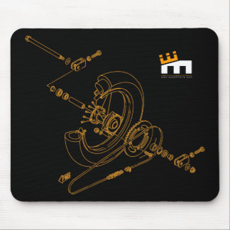 Assembly Diagram Mousepad