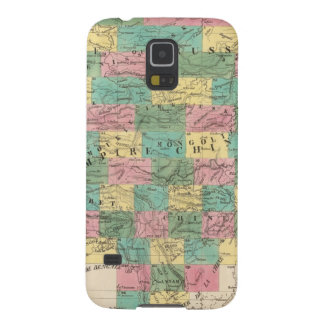 Assembly Map of Asia Galaxy S5 Case