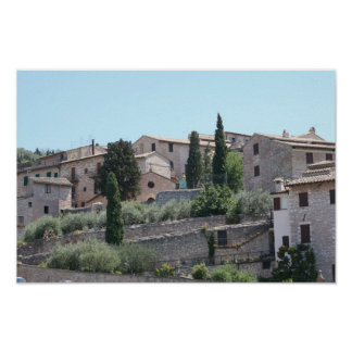 Assisi, Italy Canvas Print