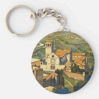 Assisi Keychain