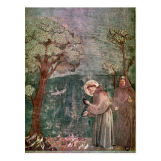 Assisi, St Francis and the birds Postcard
