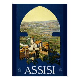 Assisi Vintage Saint Francis Italian Postcard