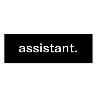 Assistant Business Card