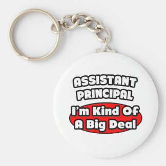 Assistant Principal Big Deal Keychain