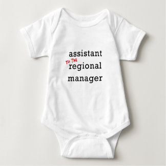 Assistant (to the) Regional Manager Baby Bodysuit
