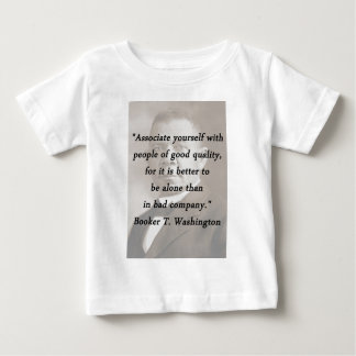 Associate Yourself - Booker T Washington Baby T-Shirt