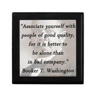 Associate Yourself - Booker T Washington Jewelry Boxes