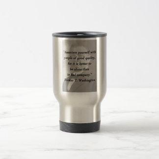 Associate Yourself - Booker T Washington Travel Mug