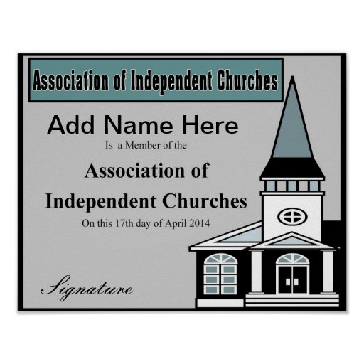 Association of Independent Churches Print