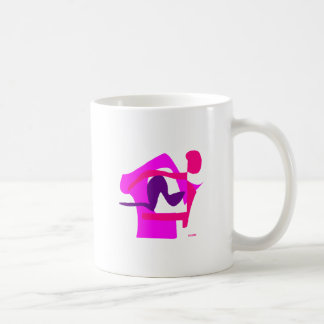 Assorted Abstracts Classic White Coffee Mug
