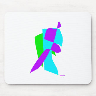 Assorted Abstracts Mouse Pad