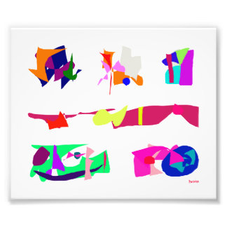 Assorted Abstracts Photographic Print