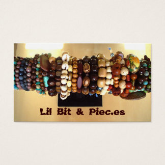 Assorted Beads Business Cards