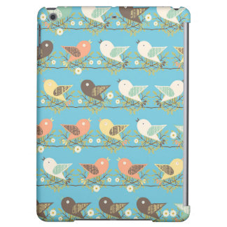 Assorted birds pattern iPad air cover