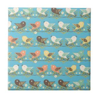 Assorted birds pattern tile