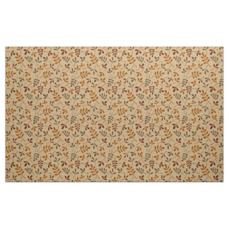 Assorted Fall Leaves Rpt Pattern Fabric
