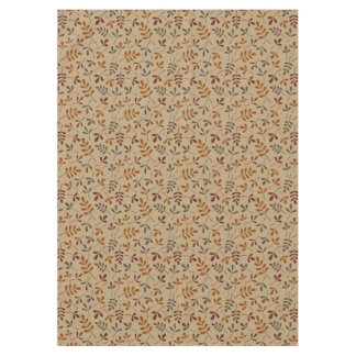 Assorted Fall Leaves Small Pattern Tablecloth