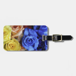Assorted fresh rose bouquets bag tag