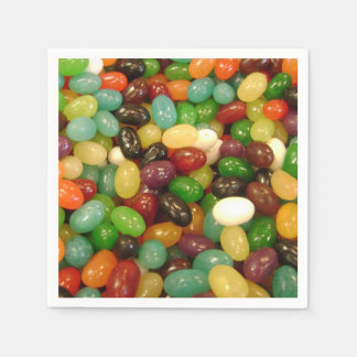 Assorted Jelly Bean Candy Napkin