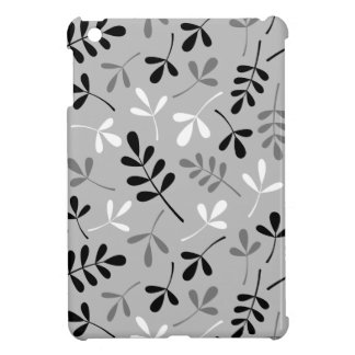 Assorted Leaves Monochrome Design Case For The iPad Mini
