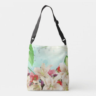 Assorted Lovely Orchids Flowers in Tote Bag