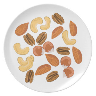 Assorted Nuts Party Plate