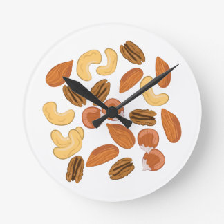 Assorted Nuts Wallclock
