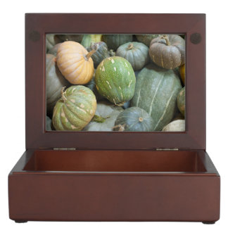 Assorted pumpkins keepsake box