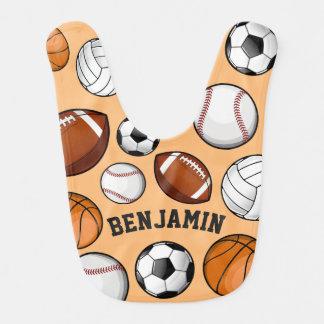 Assorted Sports All STAR Custom Name Sand Bibs