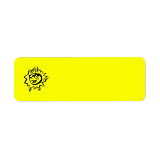 ASSORTED SURF COLLECTION PART TWO CUSTOM RETURN ADDRESS LABEL