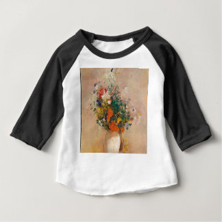 Assortion of Flowers in Vase Baby T-Shirt