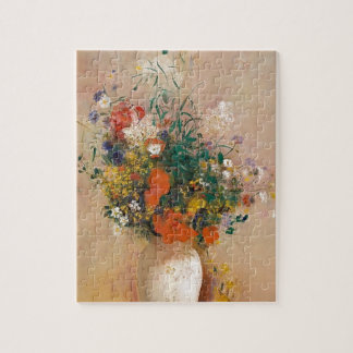 Assortion of Flowers in Vase Jigsaw Puzzle